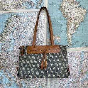 Vintage Dooney & Bourke purse bag monogram
